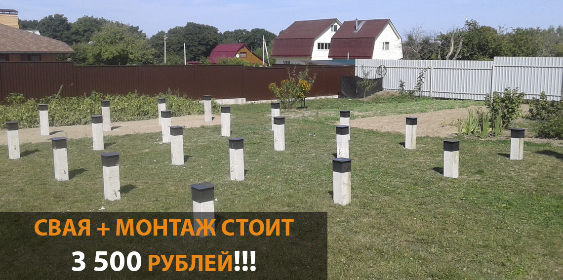 Ленточный фундамент под ключ калькулятор цены Одинцовский район